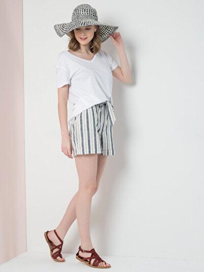 COLINS бежевый женский шорты<br>Пол: женский; Цвет: бежевый; Размер INT: L;