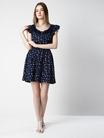 COLINS синий женский платья<br>Пол: женский; Цвет: синий; Размер INT: L;