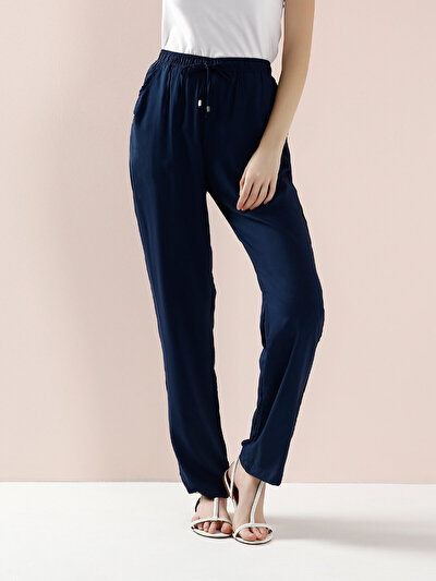 COLINS синий женский брюки<br>Пол: женский; Цвет: синий; Размер INT: L;