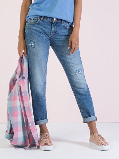 COLINS  женский брюки<br>Пол: женский; Цвет: лисвел уош; Размер INT: 28;