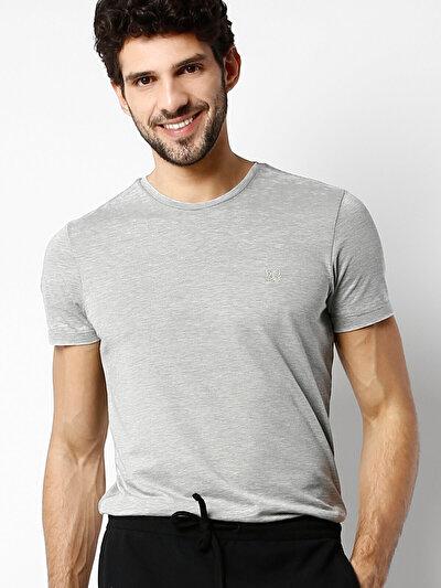 COLINS хаки мужской футболки короткий рукав<br>Пол: мужской; Цвет: светлый хаки; Размер INT: XXL;