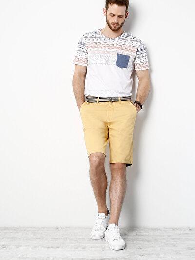 COLINS сафран желтый мужской шорты<br>Пол: мужской; Цвет: сафран желтый; Размер INT: M;