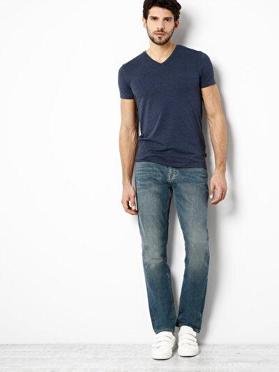 COLINS  мужской брюки<br>Пол: мужской; Цвет: лиор уош; Размер INT: 38/34;