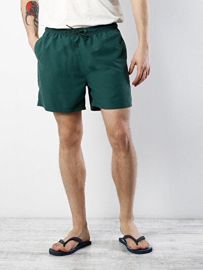 COLINS хаки мужской пляжные шорты<br>Пол: мужской; Цвет: хаки; Размер INT: S;