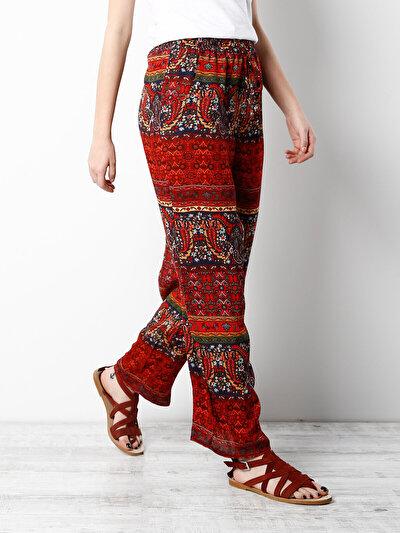 COLINS красный женский брюки<br>Пол: женский; Цвет: красный; Размер INT: L;