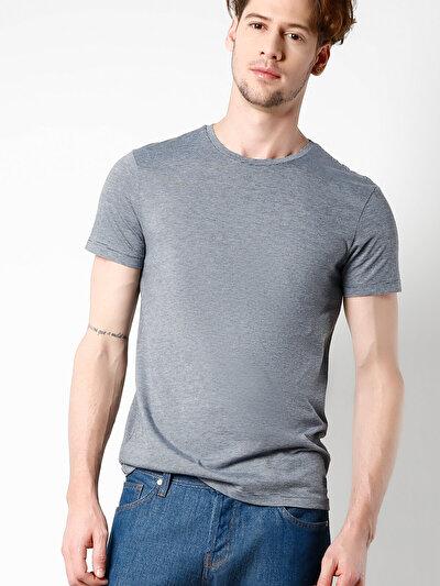 COLINS синий мужской футболки короткий рукав<br>Пол: мужской; Цвет: синий; Размер INT: S;