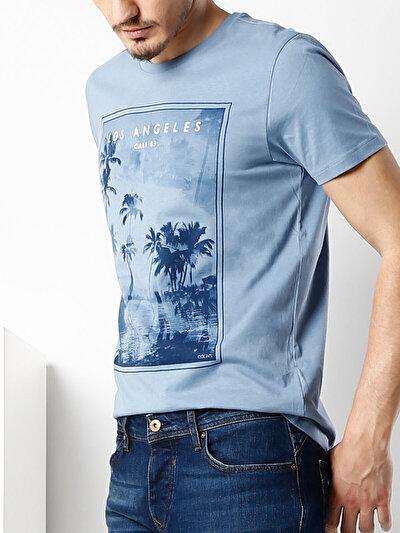COLINS голубой <br>Пол: мужской; Цвет: индиго; Размер INT: M;