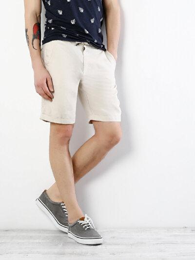 Купить со скидкой COLIN'S белый мужской шорты