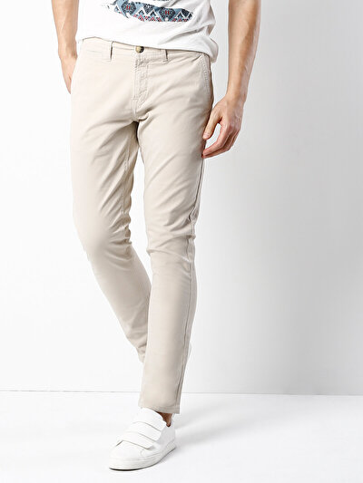 COLINS бежевый мужской брюки<br>Пол: мужской; Цвет: бежевый; Размер INT: 36/32;