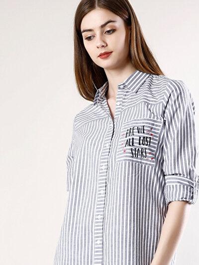 Купить со скидкой COLIN'S антрацит женский рубашки длинний рукав