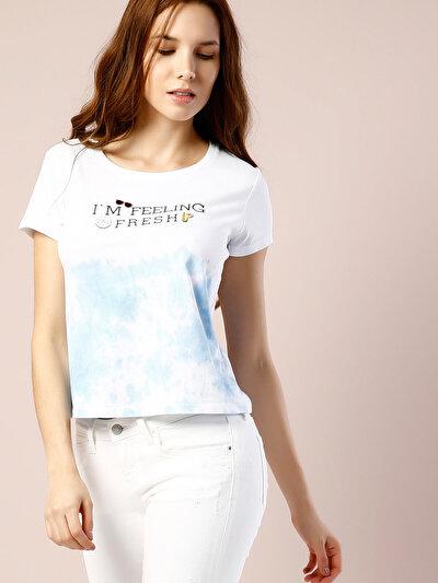COLIN'S белый женский футболки короткий рукав