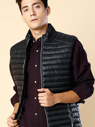 COLINS черный мужской жилеты<br>Пол: мужской; Цвет: черный; Размер INT: L;