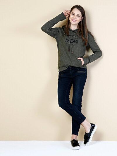 COLINS черный женский брюки<br>Пол: женский; Цвет: канелла уош; Размер INT: 27/28;