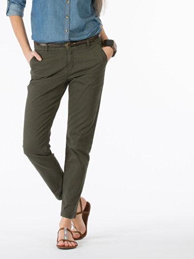COLINS хаки женский брюки<br>Пол: женский; Цвет: хаки; Размер INT: 34;