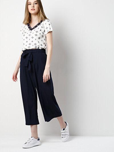 COLINS синий женский брюки<br>Пол: женский; Цвет: синий; Размер INT: XL;