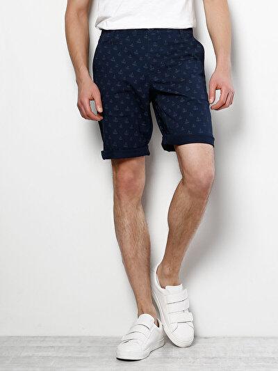 COLINS синий мужской шорты<br>Пол: мужской; Цвет: синий; Размер INT: S;