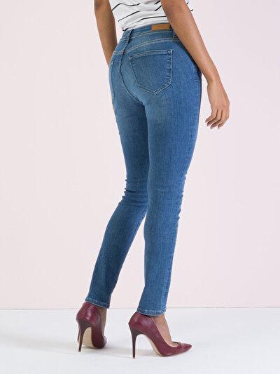 COLINS  женский брюки<br>Пол: женский; Цвет: элеонороа уош; Размер INT: 30/30;