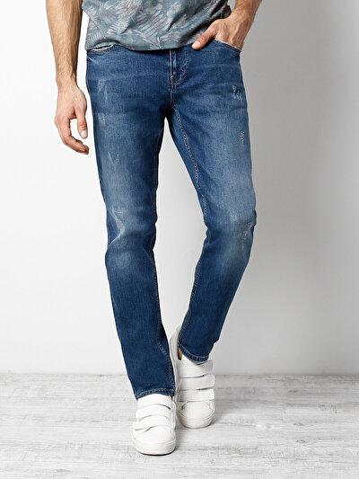 COLINS  мужской брюки<br>Пол: мужской; Цвет: джордан вош; Размер INT: 30/32;