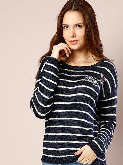 COLINS синий женский свитеры<br>Пол: женский; Цвет: синий; Размер INT: M;