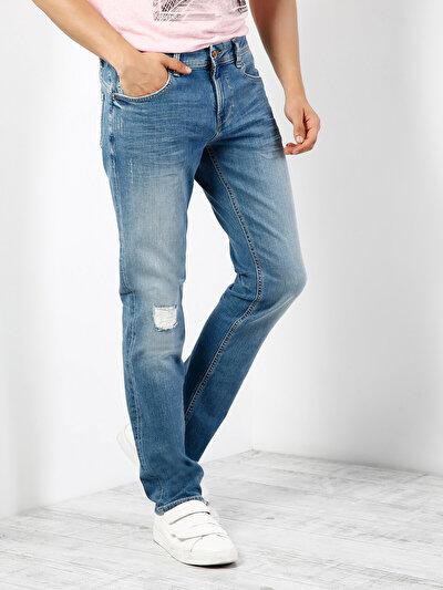 COLIN'S голубой мужской брюки