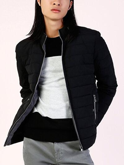 COLINS черный мужской куртки<br>Пол: мужской; Цвет: черный; Размер INT: L;