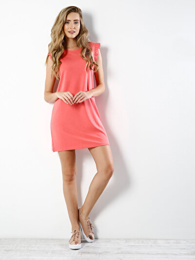 COLINS розовый женский платья<br>Пол: женский; Цвет: розовый; Размер INT: XS;