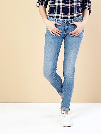 COLINS  женский брюки<br>Пол: женский; Цвет: дими уош; Размер INT: 30/32;