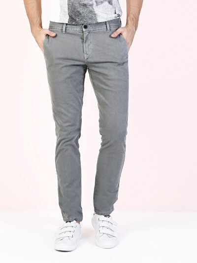 COLINS серый мужской брюки<br>Пол: мужской; Цвет: темно-серый; Размер INT: 33/32;