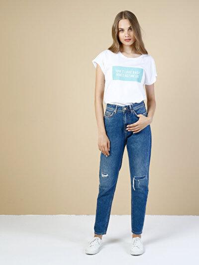 COLINS  женский брюки<br>Пол: женский; Цвет: селтис уош; Размер INT: 25/28;