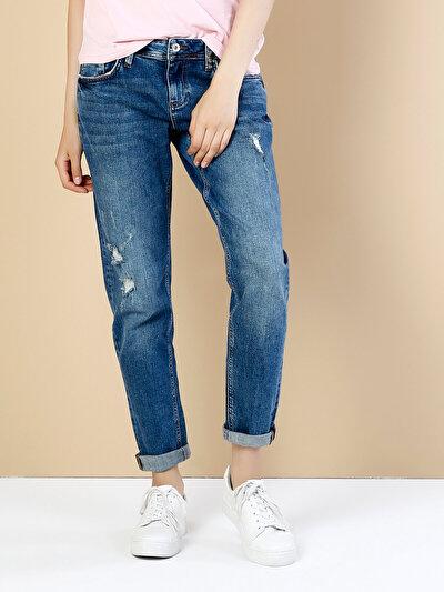 COLINS  женский брюки<br>Пол: женский; Цвет: лонга уош; Размер INT: 28;