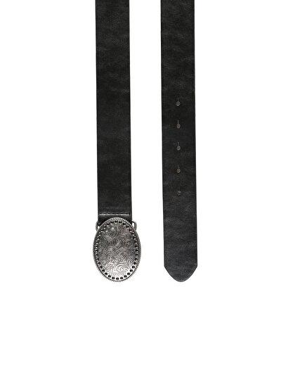 COLINS черный женский ремни<br>Пол: женский; Цвет: черный; Размер INT: 75;