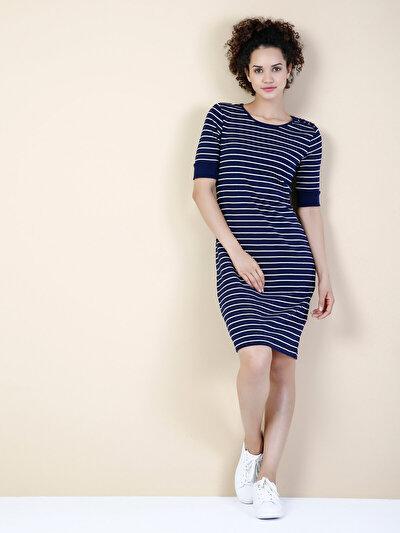 COLINS синий женский платья<br>Пол: женский; Цвет: синий; Размер INT: XS;