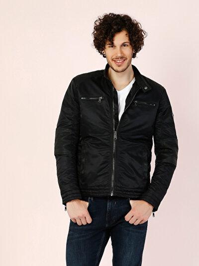COLINS черный мужской куртки<br>Пол: мужской; Цвет: черный; Размер INT: XXL;