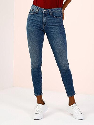 COLINS  женский брюки<br>Пол: женский; Цвет: лесли уош; Размер INT: 30/30;