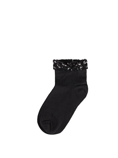 Изображение Черные Женские  Носки