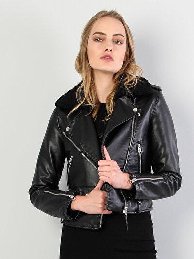 Изображение Черный жен. Куртки-PU