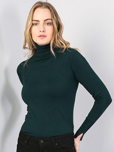 Изображение Зеленый жен. Свитеры