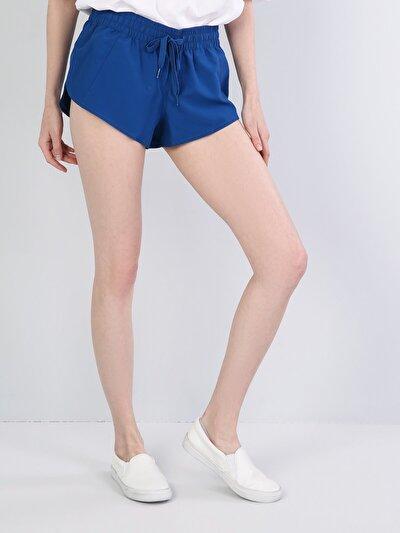 Изображение Голубой жен. Пляжные шорты