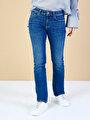 Показать информацию о Женские прямые джинсы со средней посадкой 792 MILA regular fit CL1034581