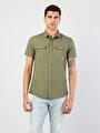 Показать информацию о Мужская рубашка с длинним рукавом regular fit CL1032599